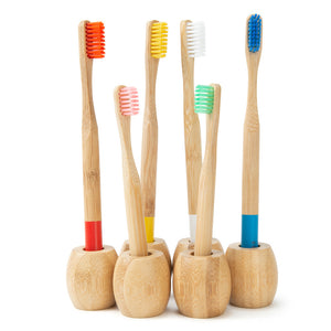 Supports Bambou pour Brosses à Dents
