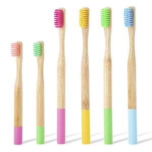 Pack Famille 6x - Brosses à Dents Bambou