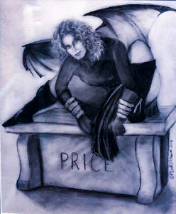 Dark Faerie at Vincent Price's Resting Place/Meredith Greer