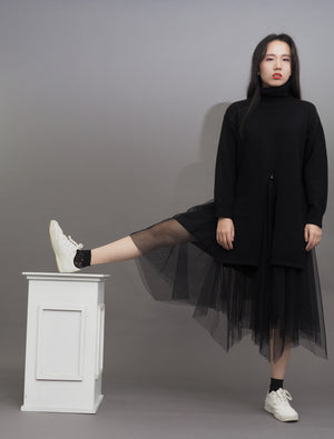 Cancan Layered Tulle Skirt