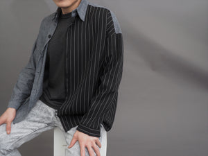 Two Textile Stripe Shirt