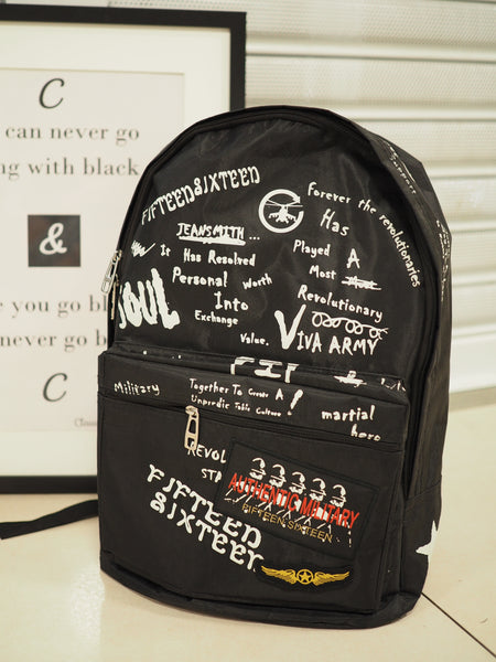Graffiti Street Backpack
