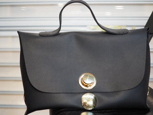 Black and Gold Chic Handbag