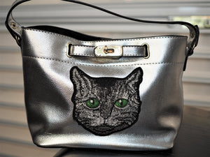 Cat Foil Purse 2 in 1 Handbag