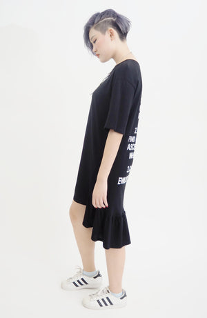 Back Script Dress