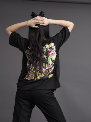 Loose Korean Style Boyfriend Hip Top