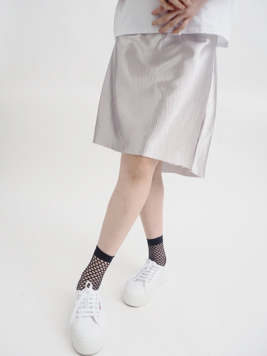 Waterfall Silver Skirt