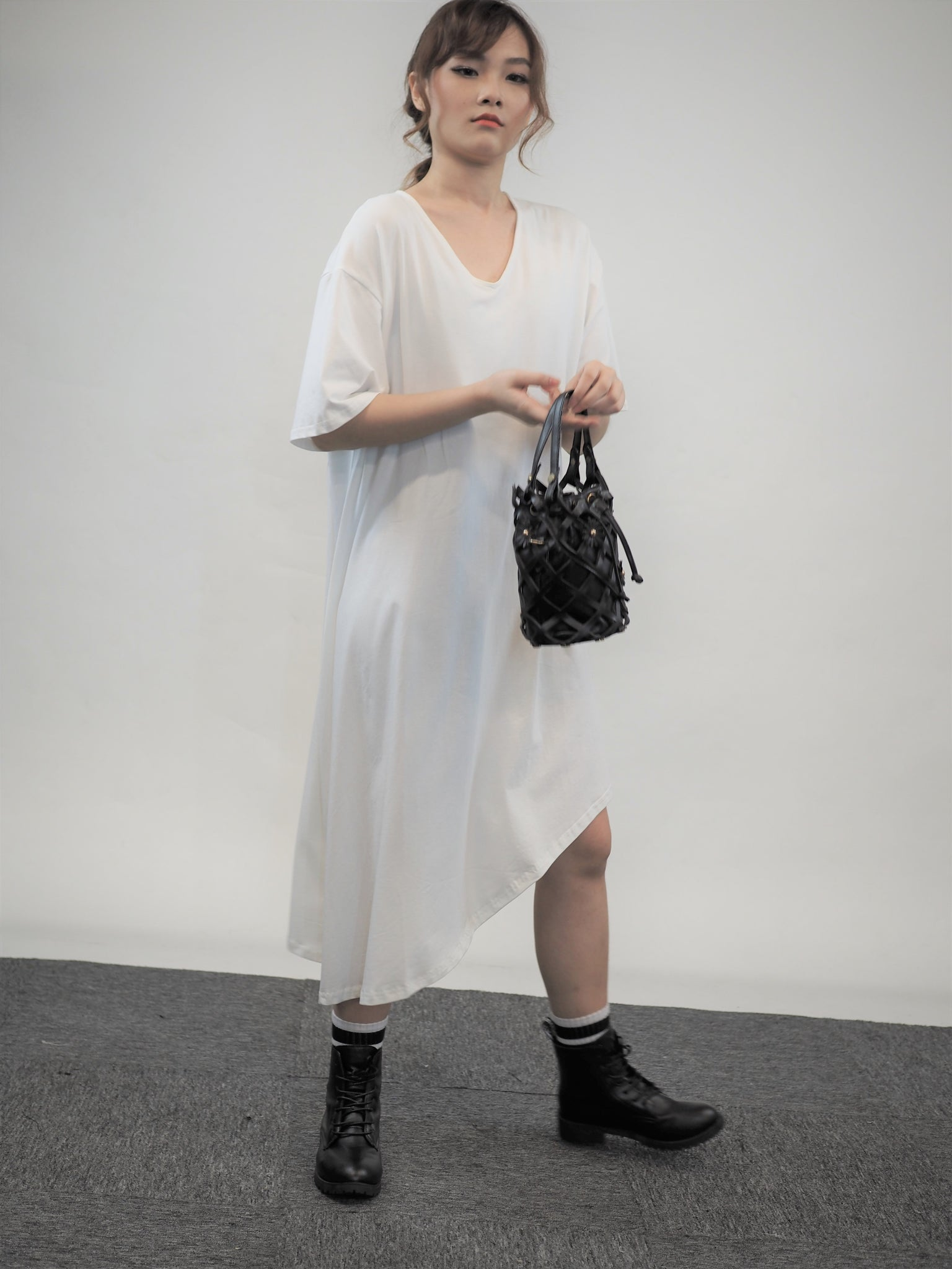Systematic Tee Dress