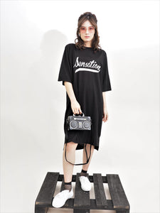 Sensation Tee Dress (Only White)