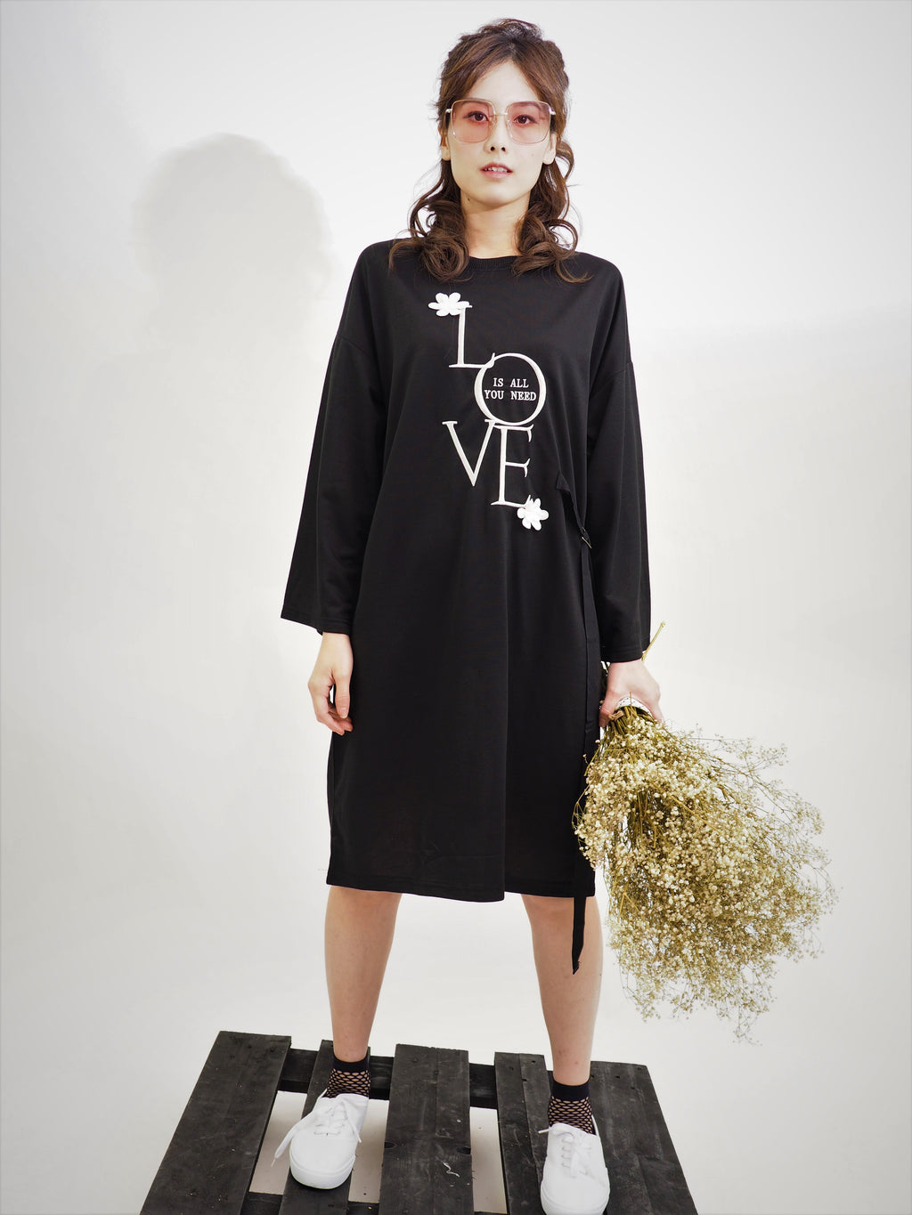 Oversized Love Dress