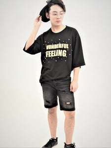 """Wonderful Feeling"" Boyfriend Tee"