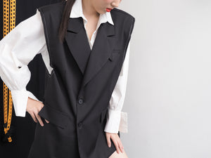 Sleeveless Formal Vest