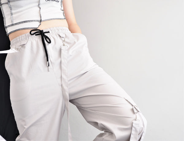 Gradient Wide Loose Pants