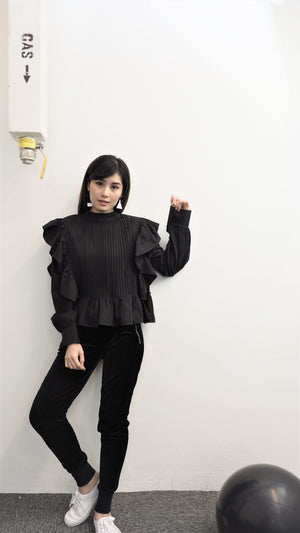 Dolly Front Pleaded Blouse