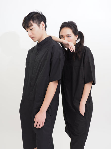 Summer Loose Korean Unisex Jumpsuit
