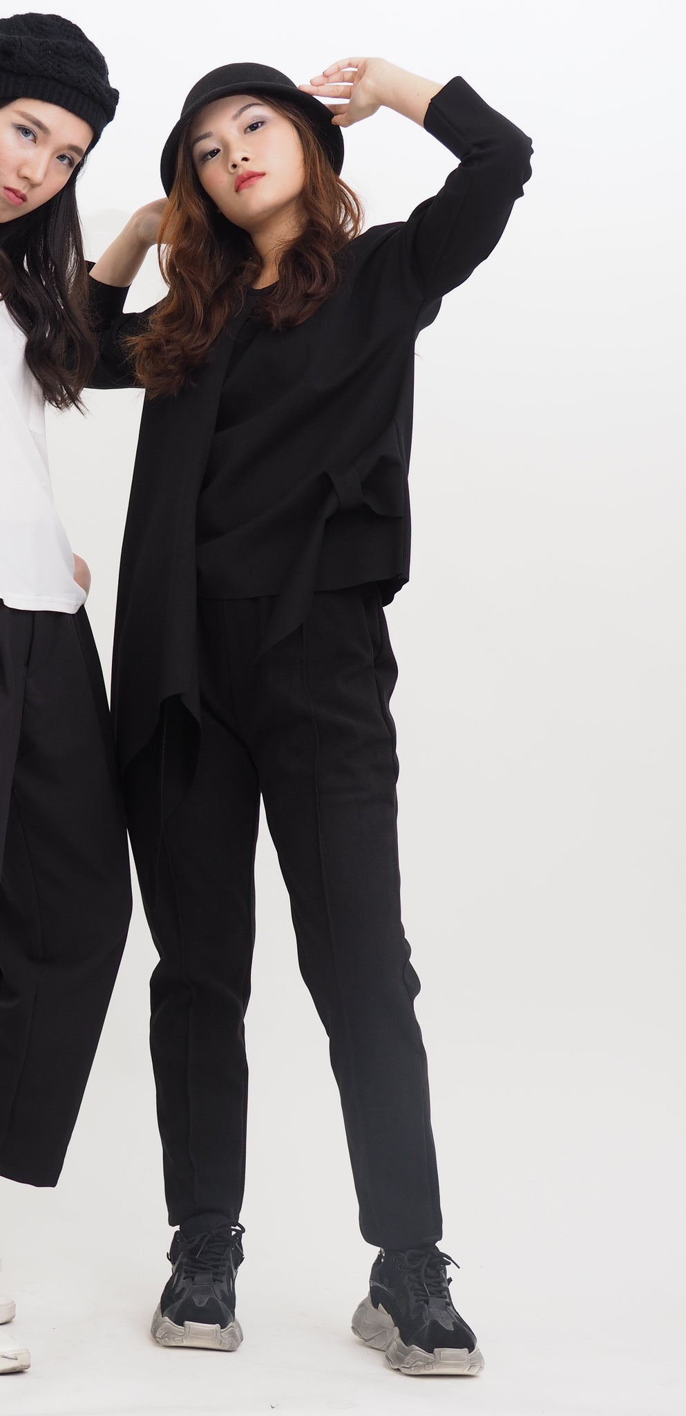 Tapered Swede Straight Cut Pant