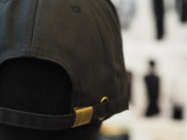 Signature Hats Classic Cotton Cap Gold Buckle