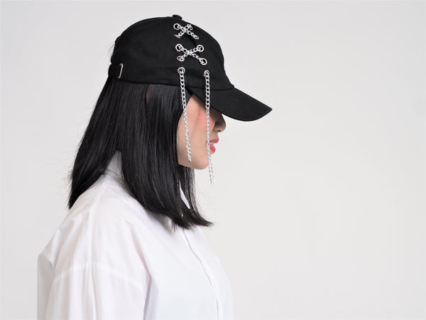 Signature Hat Cross-stitch Chain Cap