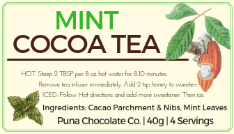Mint Cocoa Tea