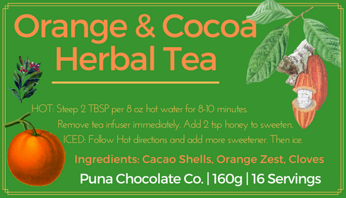 Cocoa Tea - Christmas Season Orange, Clove and Cocoa