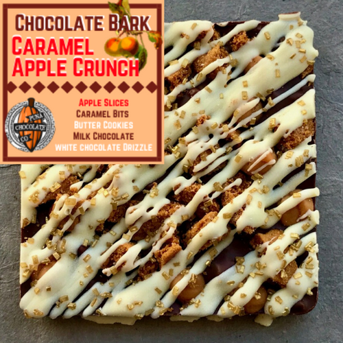 Caramel Apple Chocolate Bark