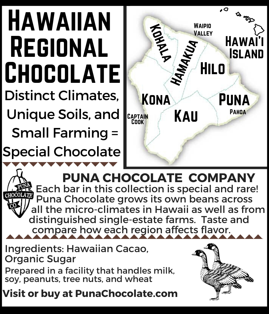 Hilo Regional 70% Dark Chocolate Bar - Single District