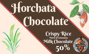 Horchata - 50% Milk Chocolate bar