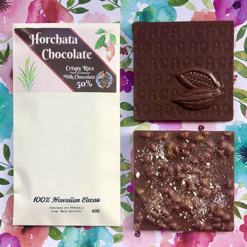 **Seasonal** Horchata - 50% Milk Chocolate bar