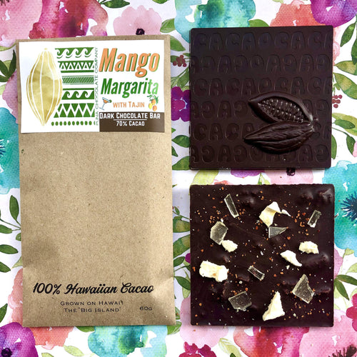 **Seasonal** Mango Margarita - 70% Dark Chocolate Bar