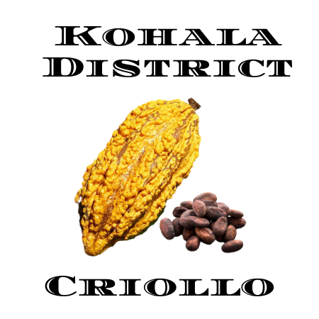 RETURNING April 2021 Criollo Kohala - 70% Dark Chocolate Bar - Single District