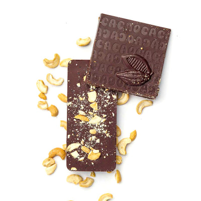 Cashew & Sea Salt - 70% Dark Chocolate