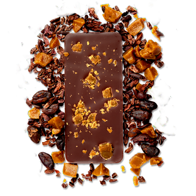 North Shore Style - Caramel Molasses Toffee in 50% Milk Chocolate