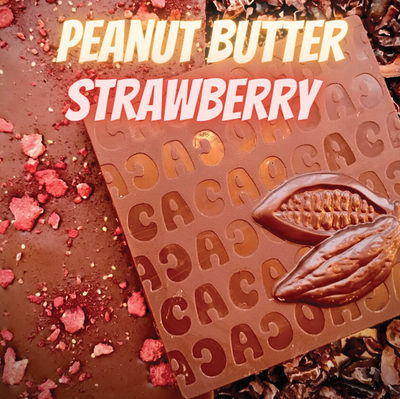 Strawberry Peanut Butter Bar - Milk Chocolate