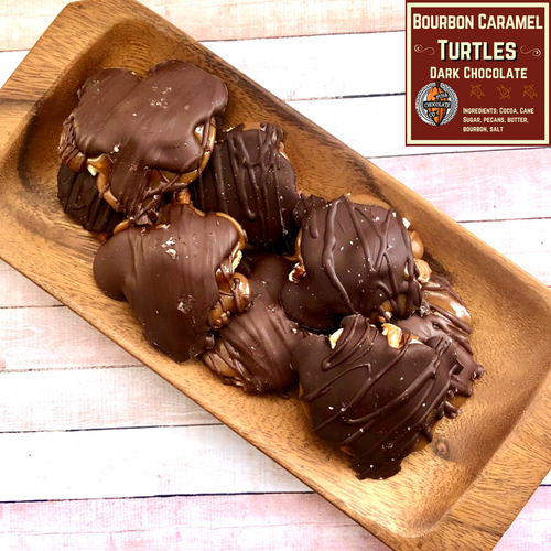 Hawaiian chocolate caramel turtles
