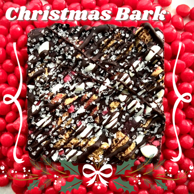 Christmas Bark - Bean-to-Bark