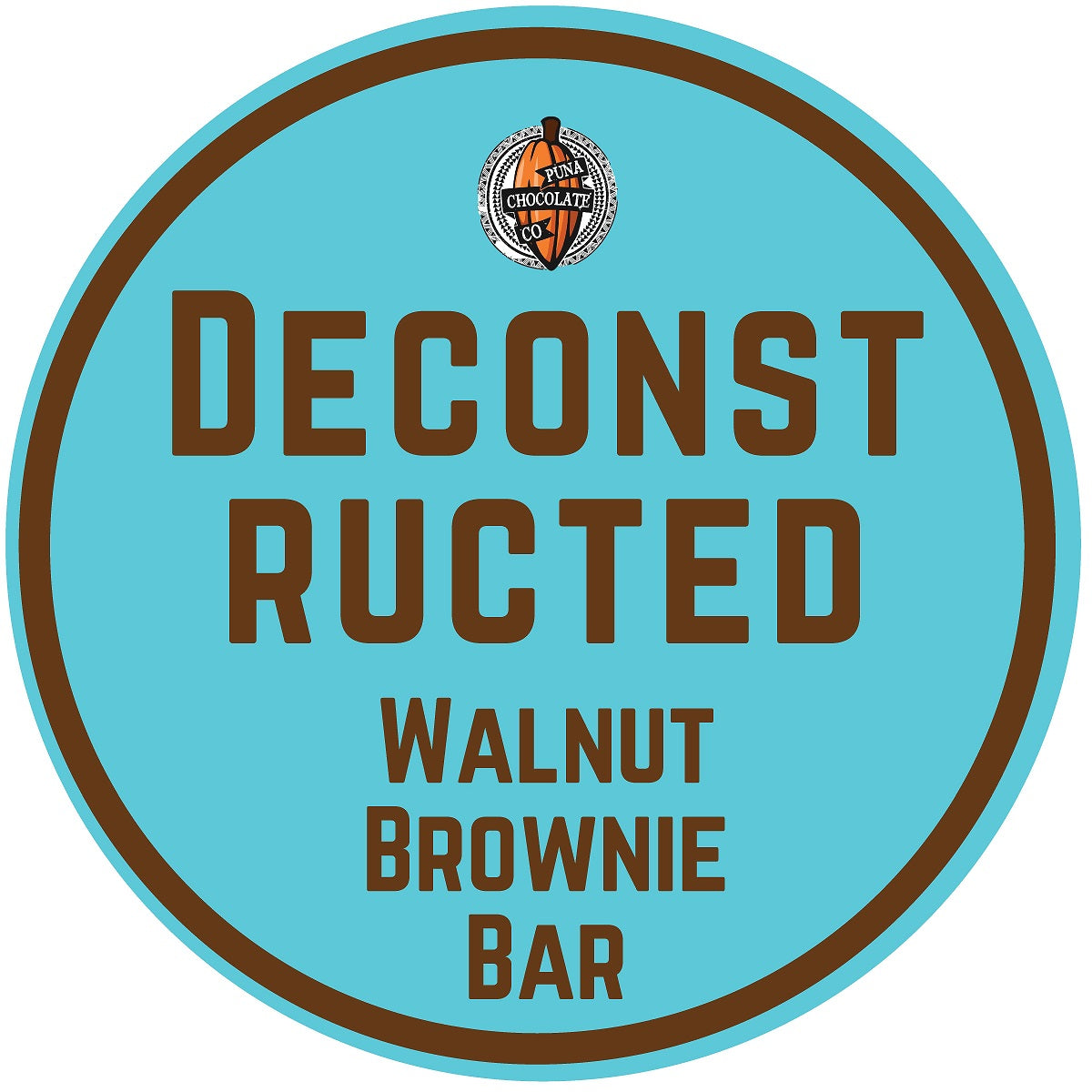 Deconstructed Brownie Walnut Bar