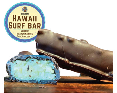 HI Surf Bar - Macadamia Coconut Dark Chocolate