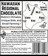 Kona Regional 70% Dark Chocolate Bar - Single District 2 Ingredients