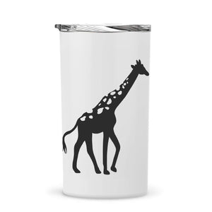 12oz Giraffe Tumbler with Straw (Customization Available)