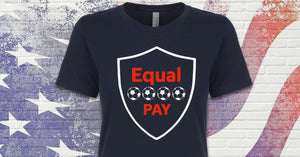 Equal Pay United States US Women's National Soccer Team Inspired Unisex fit