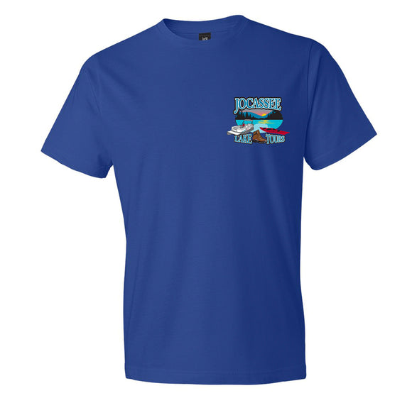 Jocassee Lake Tour Adult Unisex Shirt (Front Print)