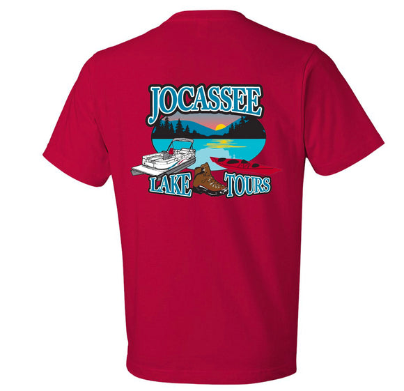 Jocassee Lake Tour Youth Unisex Shirt (Front and Back Print)