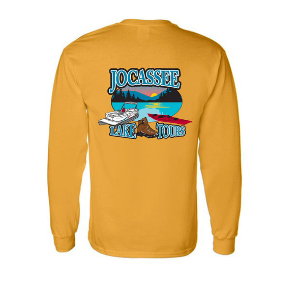 Jocassee Lake Tour Long Sleeve Adult and Youth Unisex Shirt
