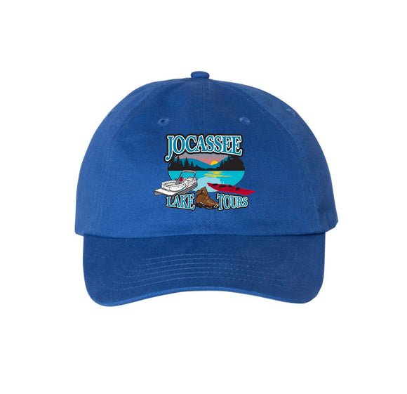 Jocassee Lake Tour Unisex 6-Panel Twill Unstructured Cap