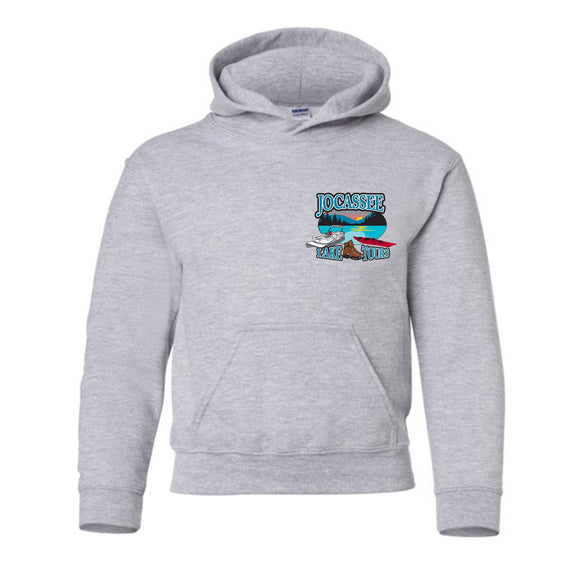 Jocassee Lake Tour Long Sleeve Youth Unisex Hoodie