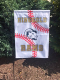 Sports Garden Flag - Personalizable with your school/logo/glitter/no glitter