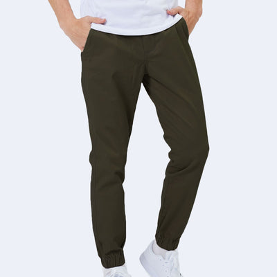 "30"" Olive Green Flex All Day Jogger"