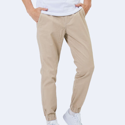 "28"" Flex All Day Joggers - Sandy Brown"