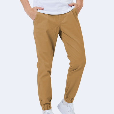 [SALE] Flex All Day Joggers - Camel Brown