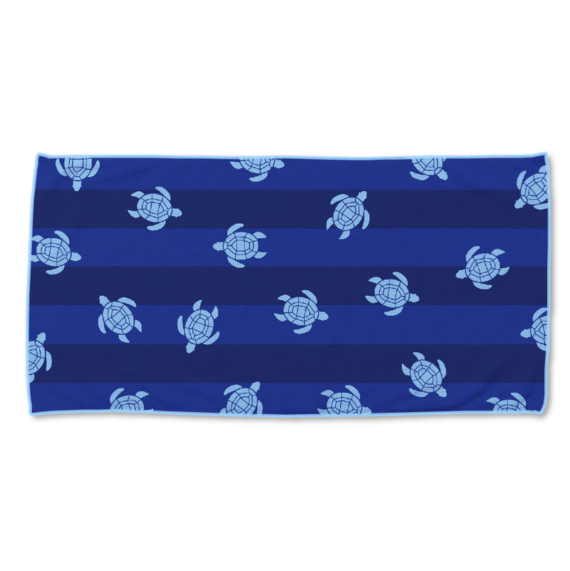 Turtles Sand Free Beach Towel
